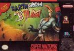 Earthworm Jim, cover art, 1994 (c) Nintendo