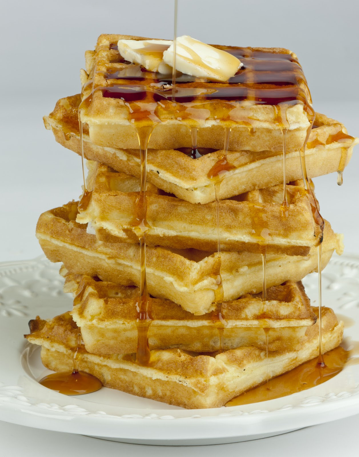even more awesome than this stack of delicious waffles. And waffles ...