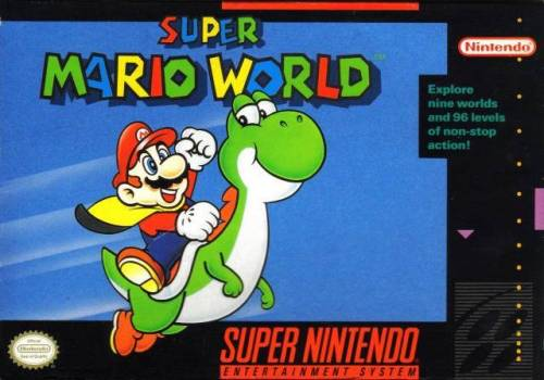 Super Mario World cover art © Nintendo