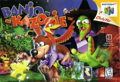 Banjo-Kazooie cover art © Rare, Nintendo