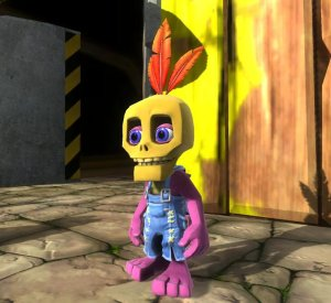 Mumbo Jumbo nicely and newly rendered in 3D..and still cute and still kinda, sorta, a little bit un-PC. (source)