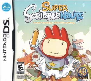 Super Scribblenauts cover art © Nintendo, Warner Bros.