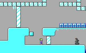 Yes, an ice level. Yes, it was as awful as any ice level. (source)