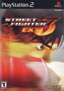 Street Fighter EX3 cover art © Capcom, Arika, Sony