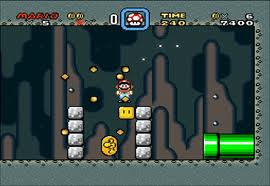 See, special things DO exist underground...like Yoshi coins. (source)