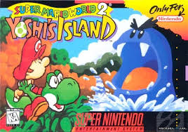 Super Mario World 2: Yoshi's Island cover art © Nintendo (source)