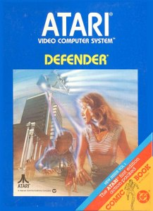 Defender cover art © Atari, Williams Electronics, Inc. (source)