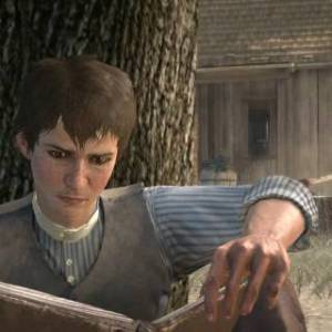 Boy, quit yer damn readin' and grab ya a gun! (source)
