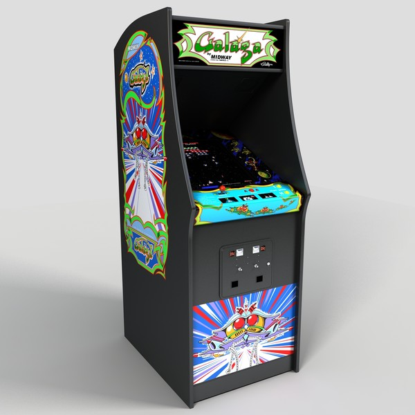 galaga arcade game -#main