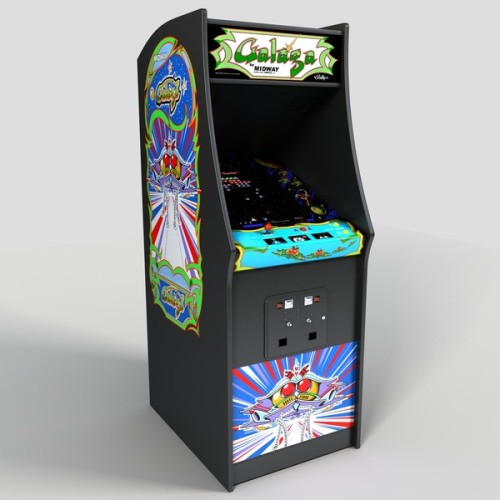 Galaga arcade machine (source)