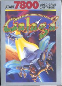 Galaga cover art © Atari
