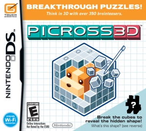 Picross 3D cover art © Nintendo, Touch Generations (source)