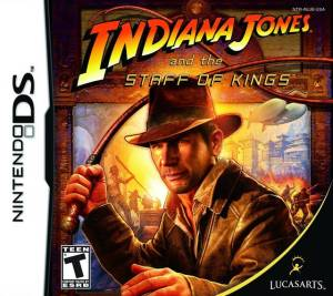 Indiana Jones and the Staff of Kings cover art © LucasArts, Nintendo (source)