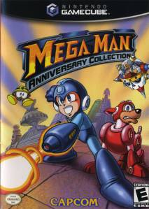 Mega Man Anniversary Collection cover art  © Capcom, Nintendo