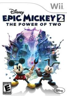 Epic Mickey 2 cover art © Nintendo, Disney (source)