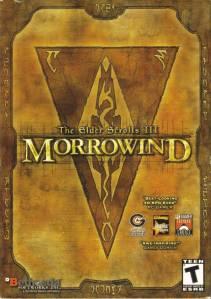 Elder Scrolls III: Morrowind cover art © Bethesda