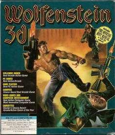 Wolfenstein 3D cover art © id Software, GT Software