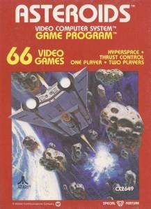 Asteroids cover art © Atari, Warner Communications
