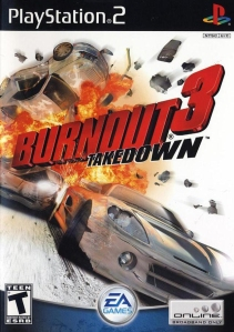 Burnout 3: Takedown cover art © EA, Sony (source)
