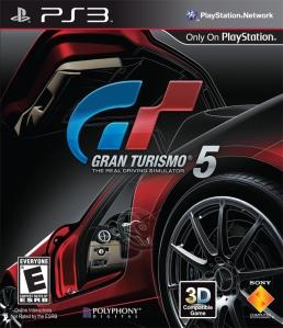 Gran Turismo 5 cover art © Sony (source)