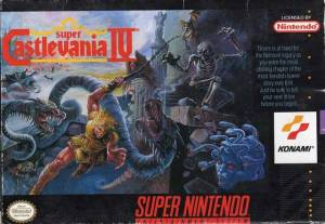 Super Castvlenaia IV cover art © Konami, Nintendo (source)