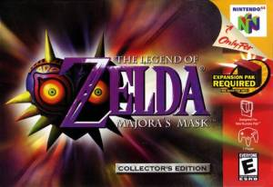 The Legend of Zelda: Majora's Mask cover art © Nintendo