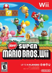 New Super Mario Bros. Wii cover art © Nintendo