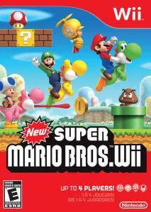 New Super Mario Bros. Wii cover art © Nintendo