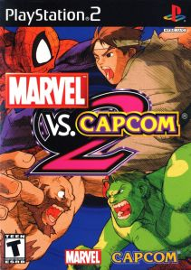 Marvel vs. Capcom 2 cover art © Marvel, Capcom, Sony