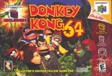 Donkey Kong 64 cover art © Rare, Nintendo