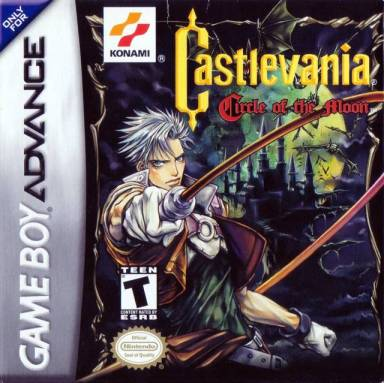 Castlevania: Circle of the Moon cover art © Konami, Nintendo
