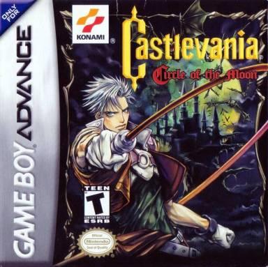 Castlevania: Circle of the Moon cover art © Konami, Nintendo