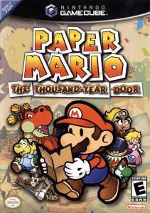 Paper Mario: The Thousand Year Door cover art © Nintendo