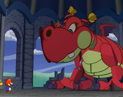 Not Bowser. Intimidating. But NOT Bowser.