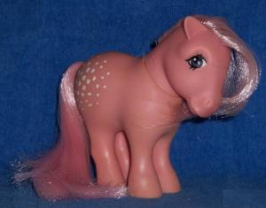 "The original ""Cotton Candy"" from Hasbro. She's pink and sweet!"