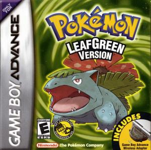 Pokemon LeafGreen Version cover art © Nintendo