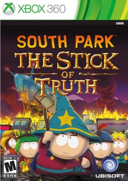 South Park: The Stick of Truth cover art © Ubisoft, Microsoft