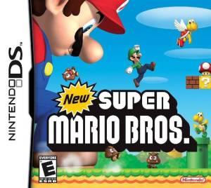 New Super Mario Bros. cover art © Nintendo