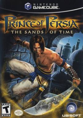 Prince of Persia: The Sands of Time cover art © Ubisoft, Nintendo