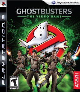 Ghosbusters: The Video Game cover art © Atari, Columbia Pictures, Sony, et al.