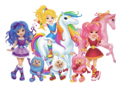 """Modernized"" Rainbow Brite make me want to throw up rainbows...and stuff that isn't rainbows."