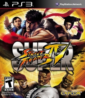 Super Street Fighter IV cover art © Capcom, Sony