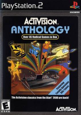 Activision Anthology cover art © Atari, Activision