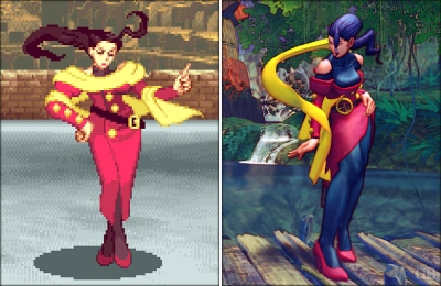 Rose has evolved some, but not much. Next to Chun-Li, she's one of my favorite female characters.