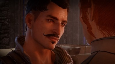 Not that he was an option for my character, but even the hunky Dorian fell flat.