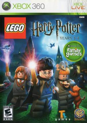 LEGO Harry Potter, Years 1-4 cover art © TT Games, Warner Bros. Games, Microsoft
