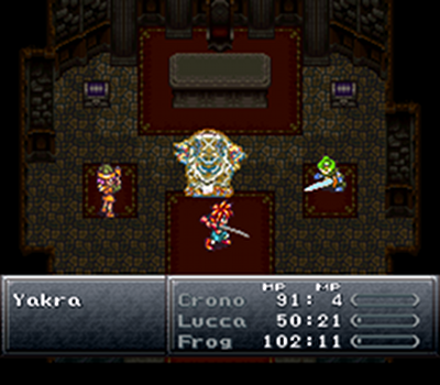 Why, Crono and the gand, of course!