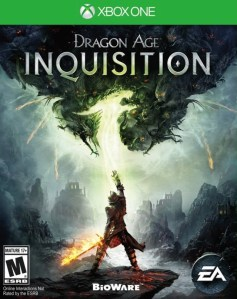 Dragon Age: Inquisition box art © Bioware, EA, Microsoft