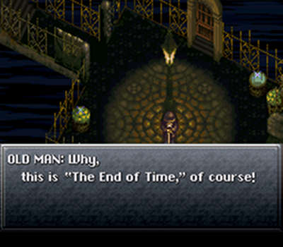"See, ""The End of Time."" No joke."