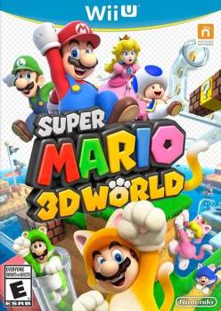Super Mario 3D World cover art © Nintendo